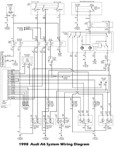 Work Auto Manuals Fault Codes Dtc, Audi A6 Wiring Diagram
